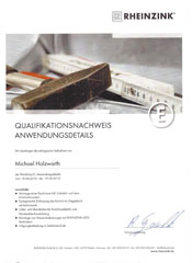 Zertifikat-Klemper-Montage-Details