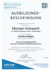 Zertifikate-Absturzsicherungssysteme